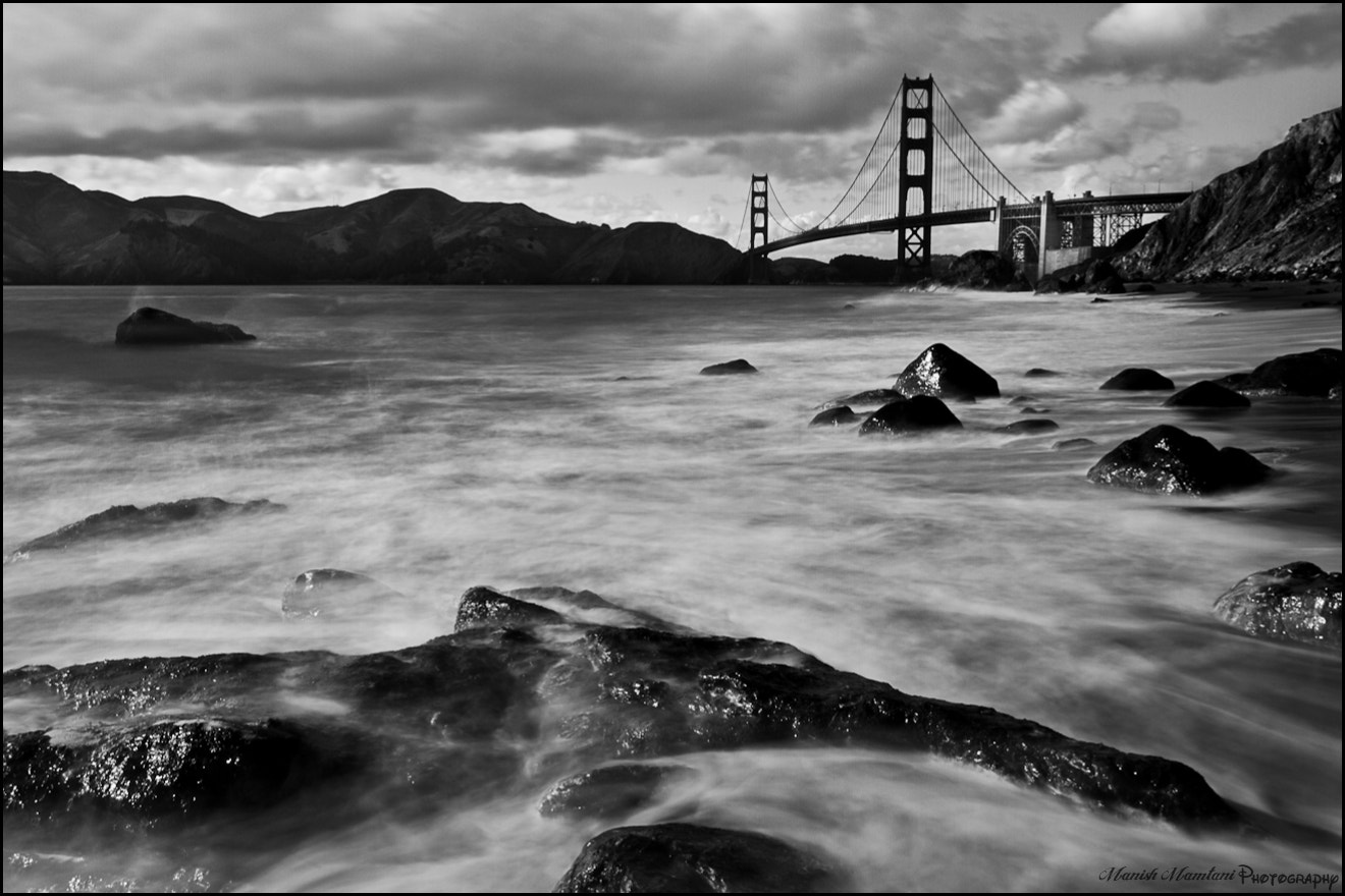 Photograph Golden Gate Bridge - Black and White by Manish Mamtani on 500px