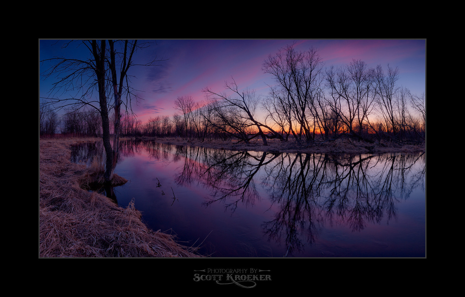Photograph Rat River Sunset by Scott Kroeker on 500px