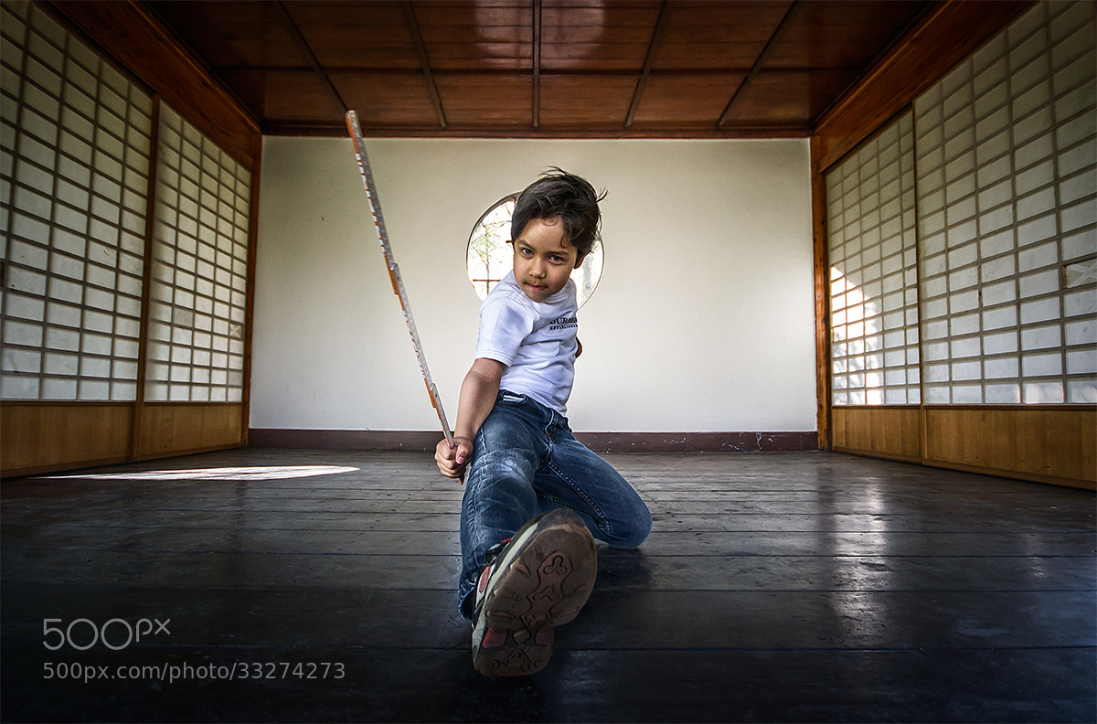 Photograph Little Ninja ;) by Adrian Sommeling on 500px