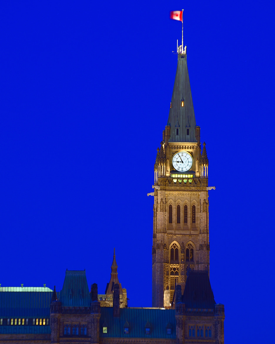Photograph Peace Tower by Tony Beck on 500px