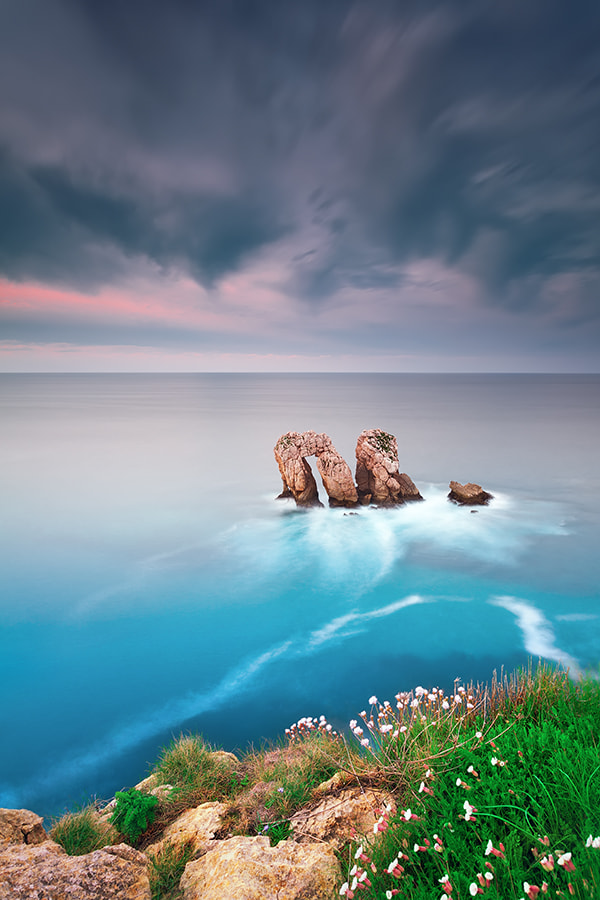 Photograph Los Urros - Costa Quebrada - Cantabria (Spain) by Eric Rousset on 500px