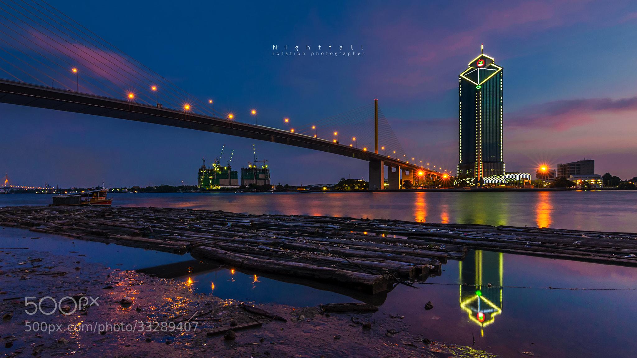 Photograph Nightfall by Jirawas Teekayu on 500px