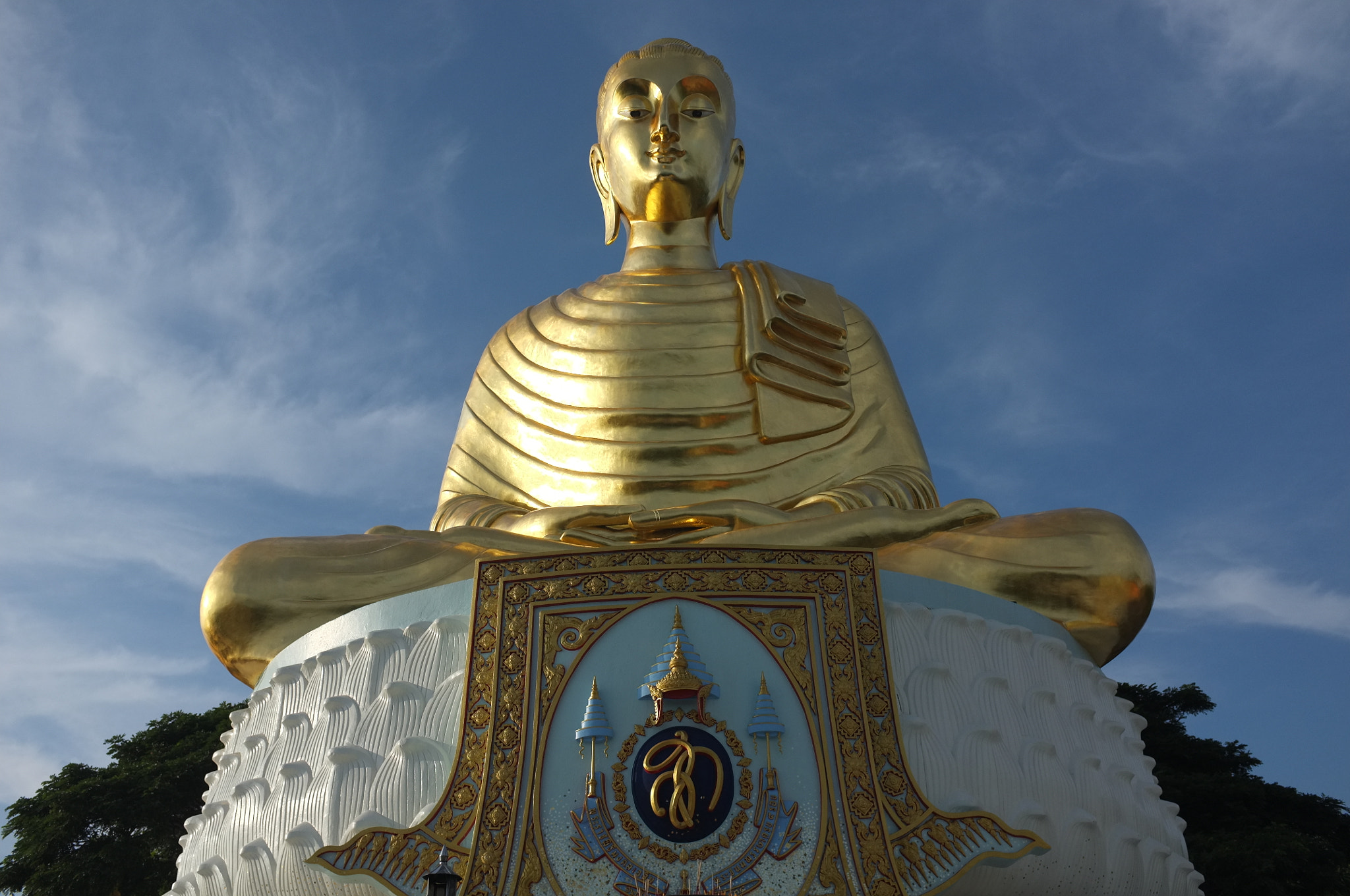 Photograph Golden image of the Lord Buddha  by Matthew Richards on 500px