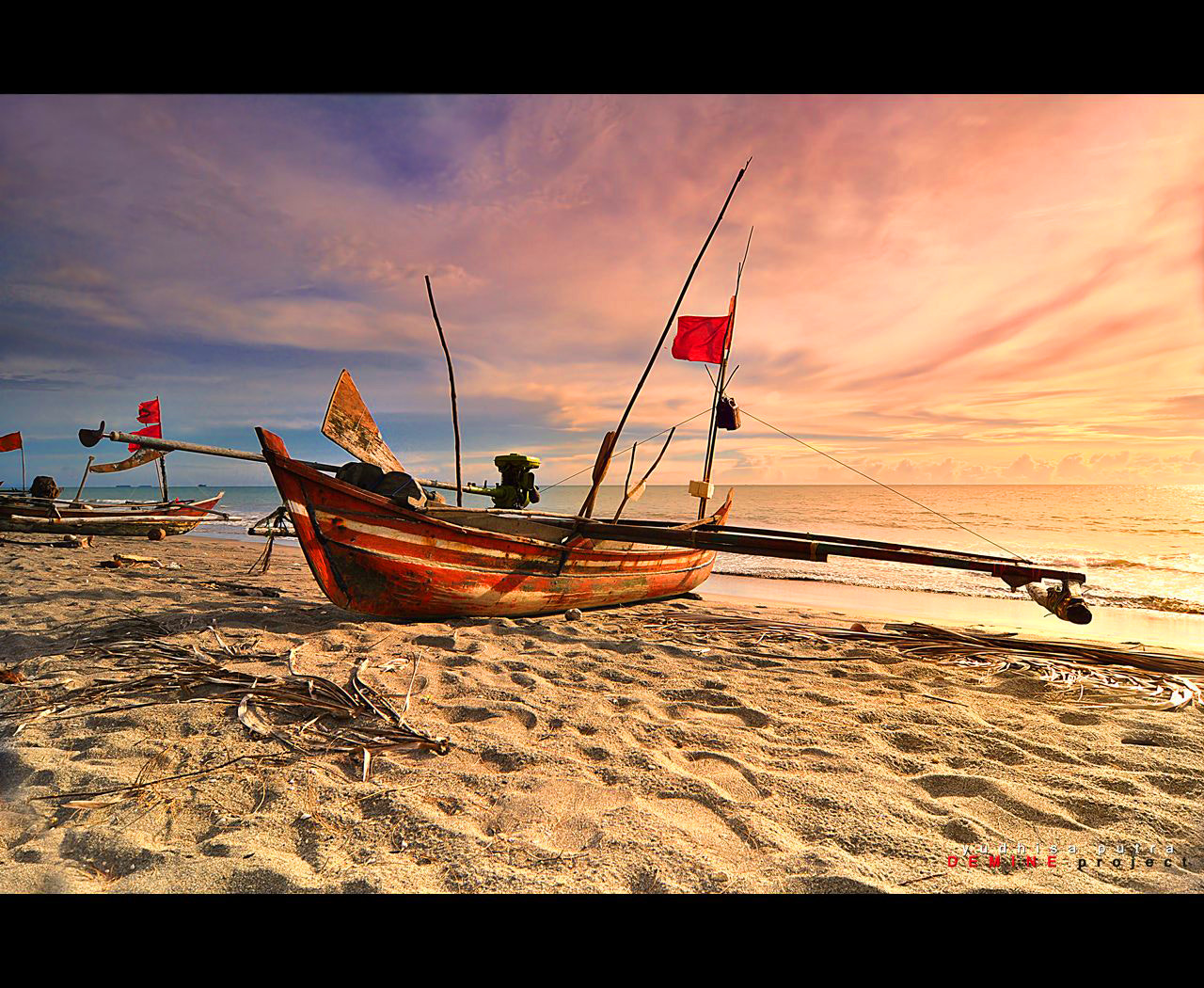 Photograph Silent in Sunset by Yudhisa Putra on 500px