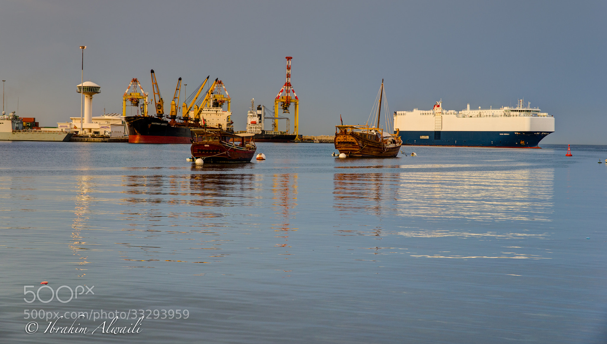 Photograph S-Qaboos Port - Mutrah sea view by Ibrahim AlWaili on 500px