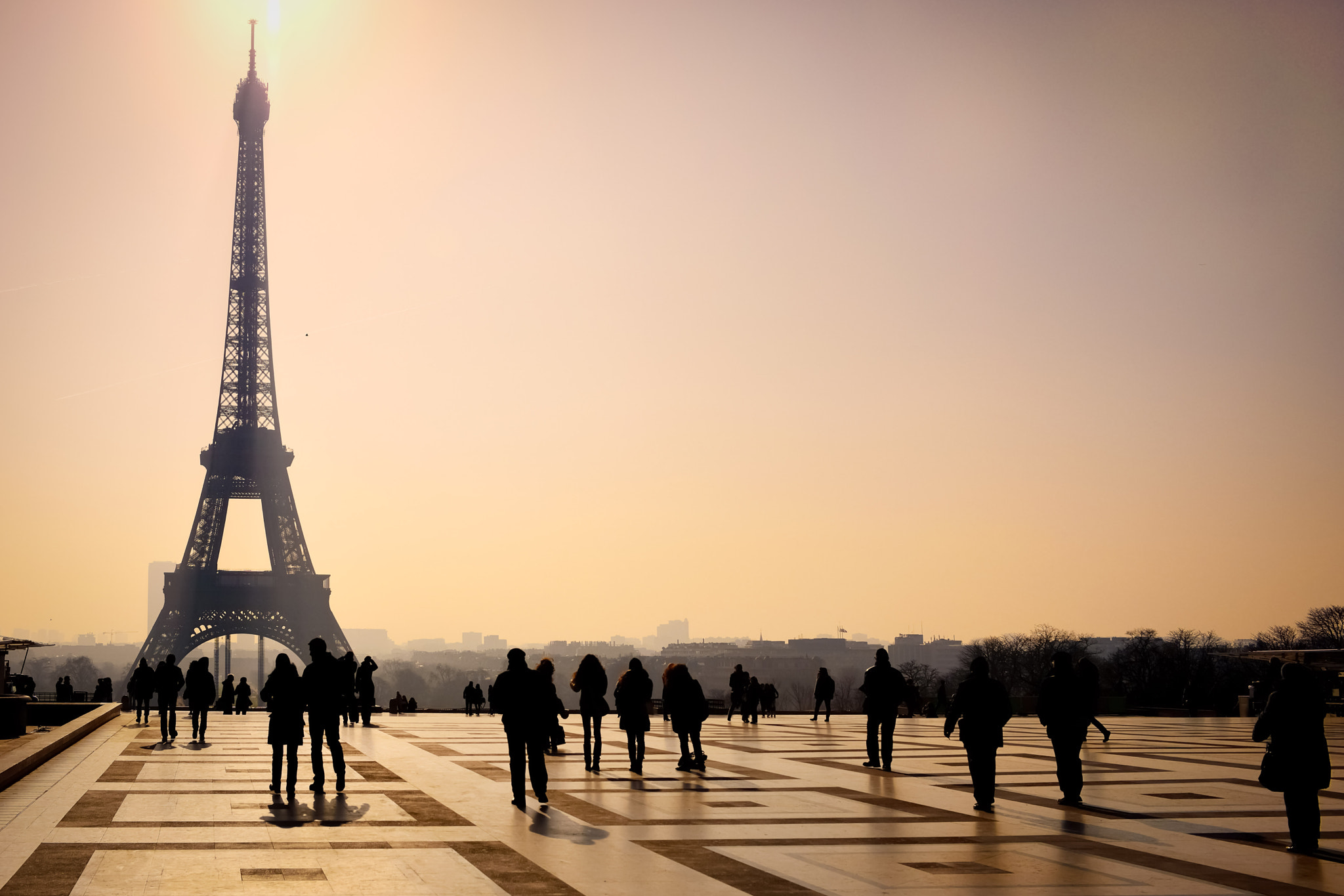 Photograph Dawn on the Eiffel Tower by Nicolas Winspeare on 500px
