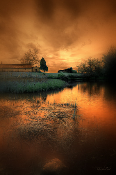 Photograph 'twas a dreamy sunset by George Saad on 500px