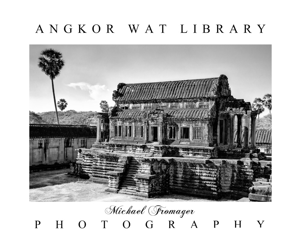 Photograph ANGKOR WAT LIBRARY by Michael  Fromager on 500px