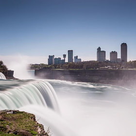 16 second long exposure of Niagara Falls on 5/4/2013