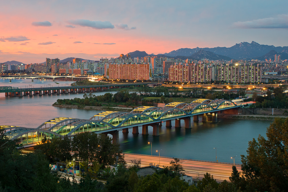 Photograph Hangang sunset by John the Don on 500px