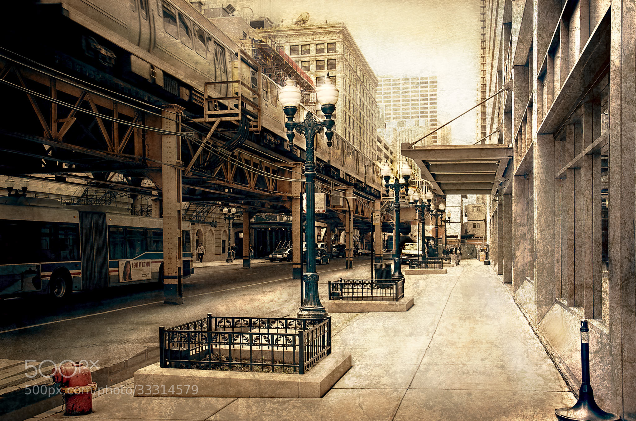 Photograph Chicago at the 'L' by Dirk Seifert on 500px