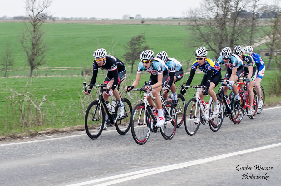 Photograph cycle race III by Gunter Werner on 500px