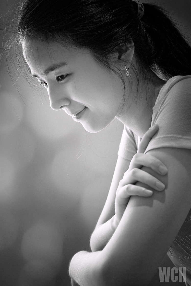 Photograph Soft Smile by Woo Changhoon on 500px