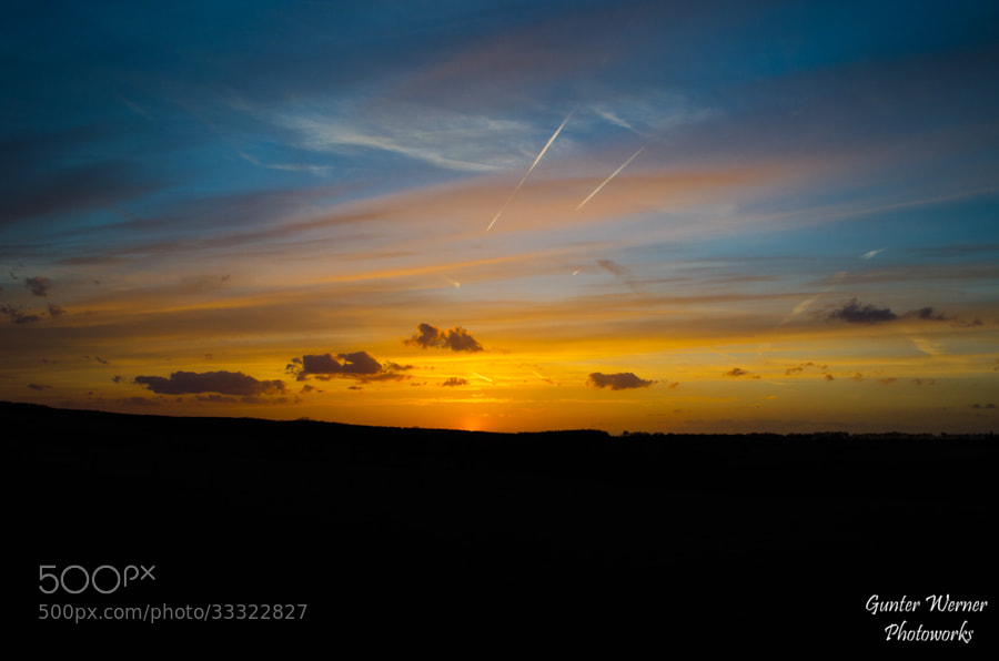 Photograph sunset by Gunter Werner on 500px