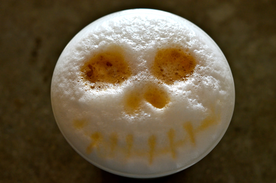 Tim Burton's coffee