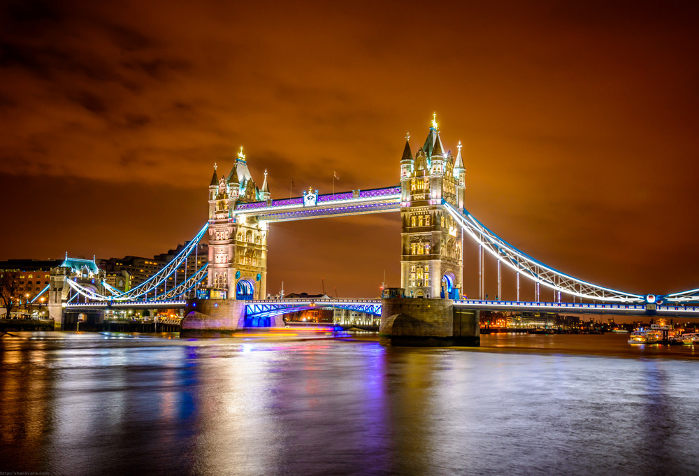 Photograph Tower Bridge by Vitaliy Sharavara on 500px