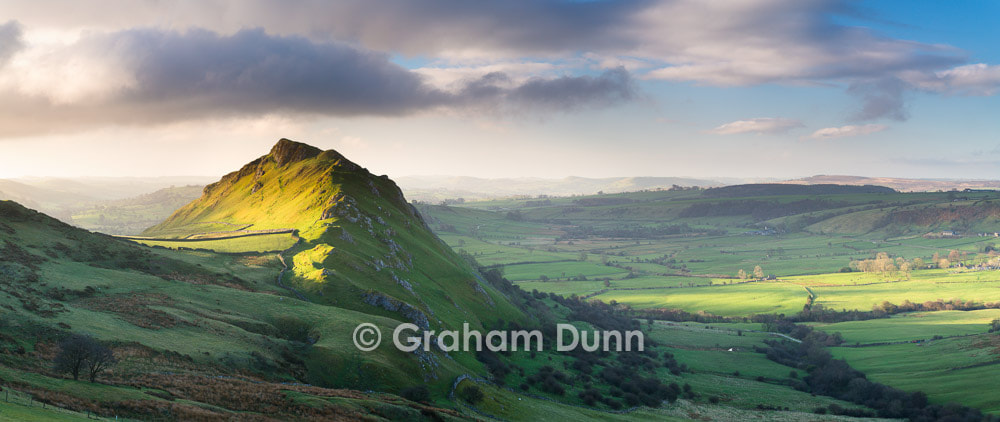 Photograph Chrome Hill & Upper Dove Valley panorama - Peak District by Graham Dunn on 500px