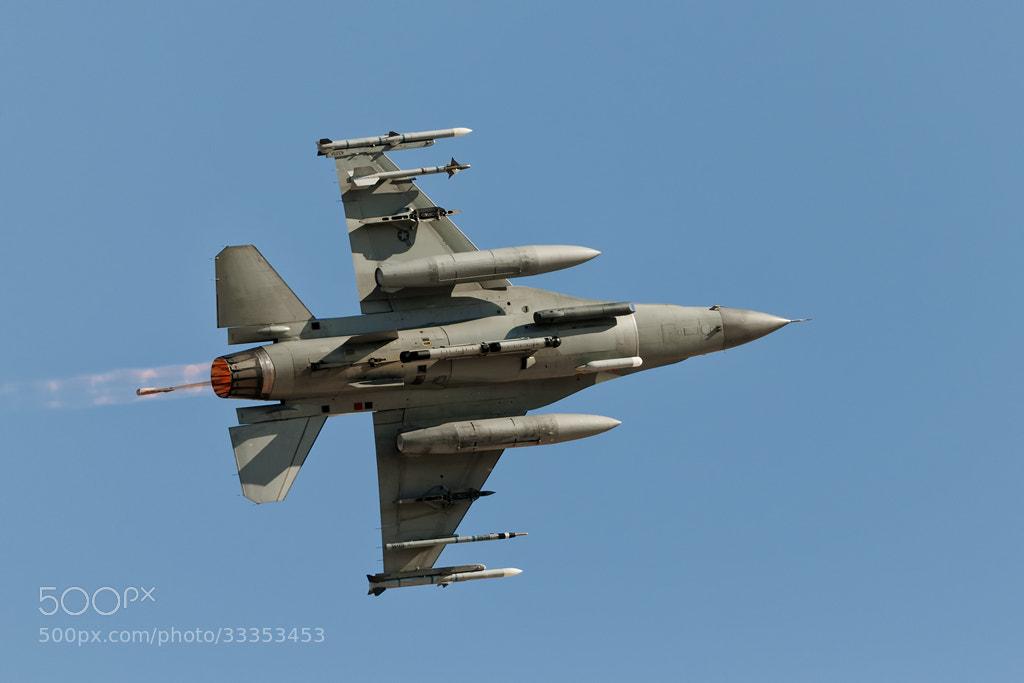 Photograph F-16 afterburner by Darek Siusta on 500px
