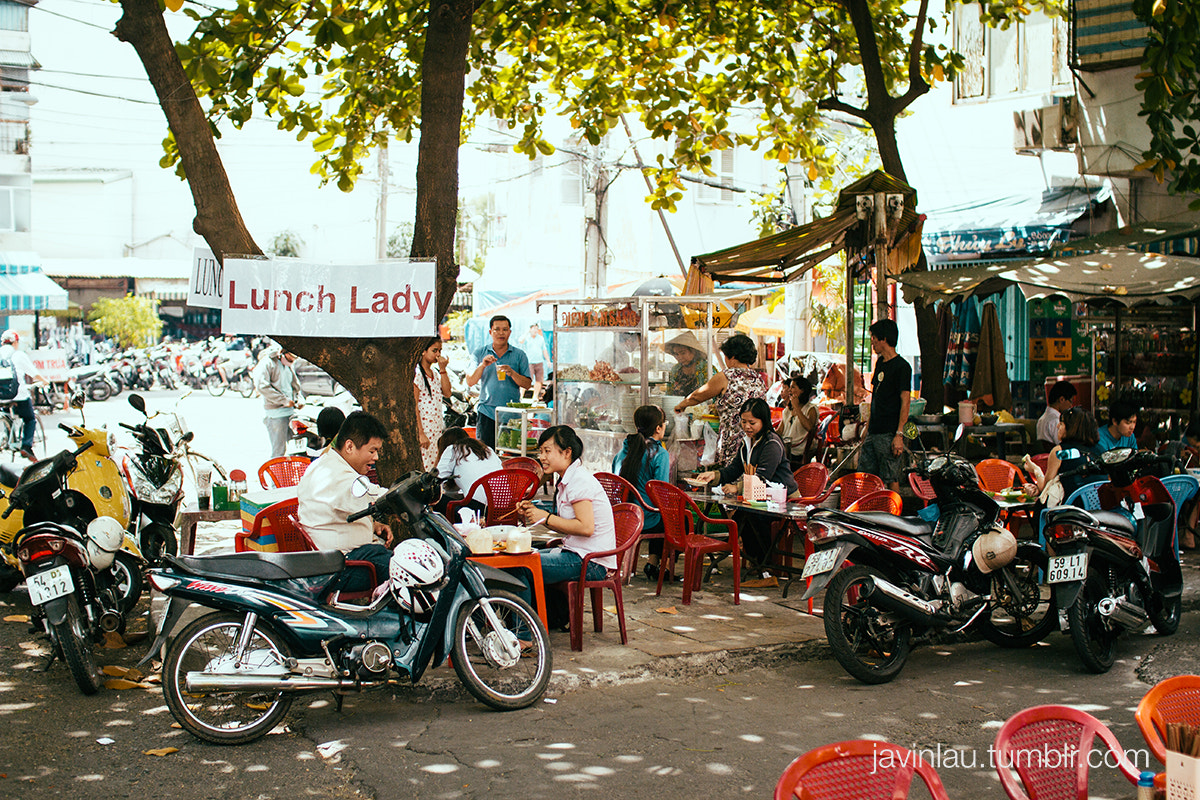 Photograph lunch lady. by cartographr  on 500px