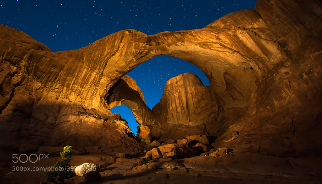 Photograph Painting the Arches by Michael Criswell on 500px