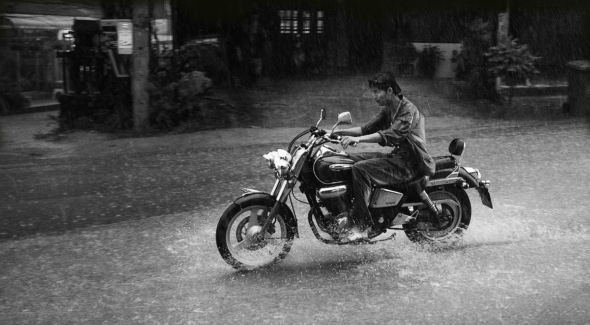 Photograph Rainy Biker.. by Artem Andronov on 500px