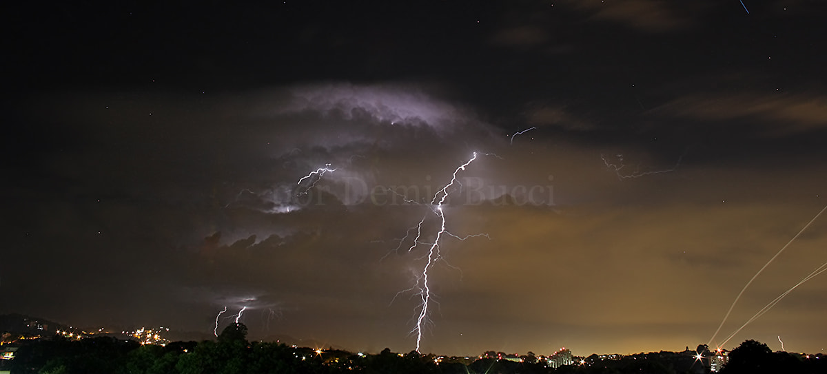 Photograph Lightings near to airport! by Demis Bucci on 500px