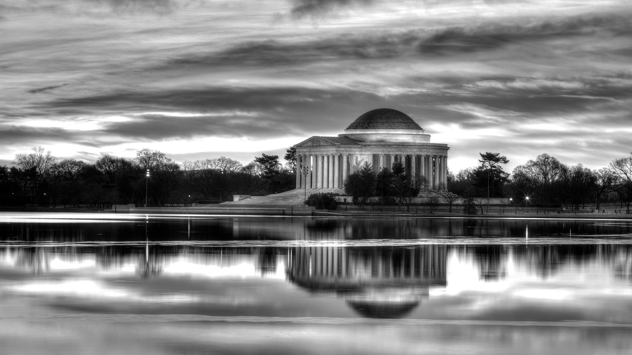 Photograph Jefferson Monochrome by Andrew Rhodes on 500px