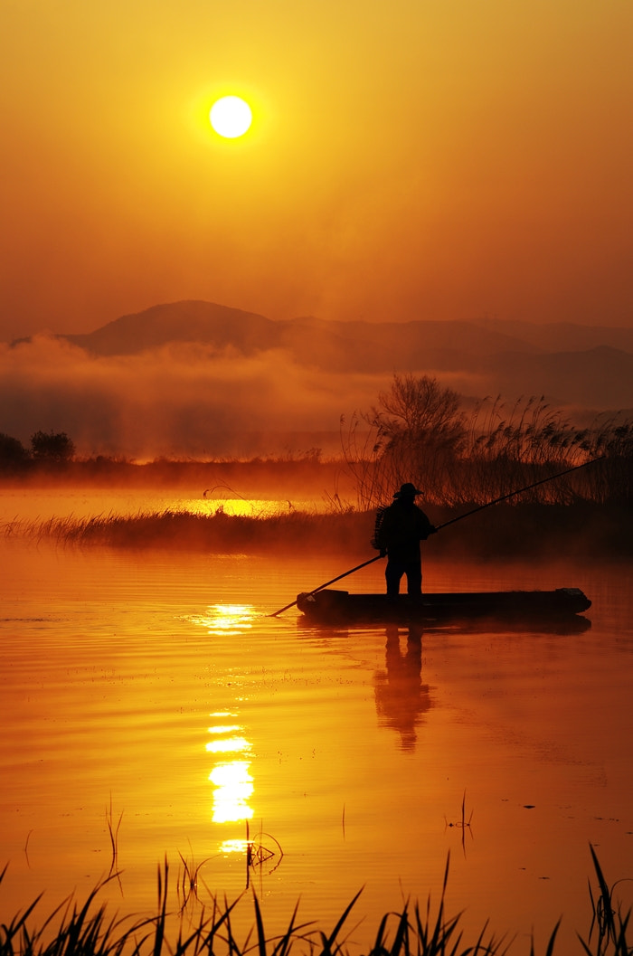 Photograph A Fisherman by Jihoon Park on 500px