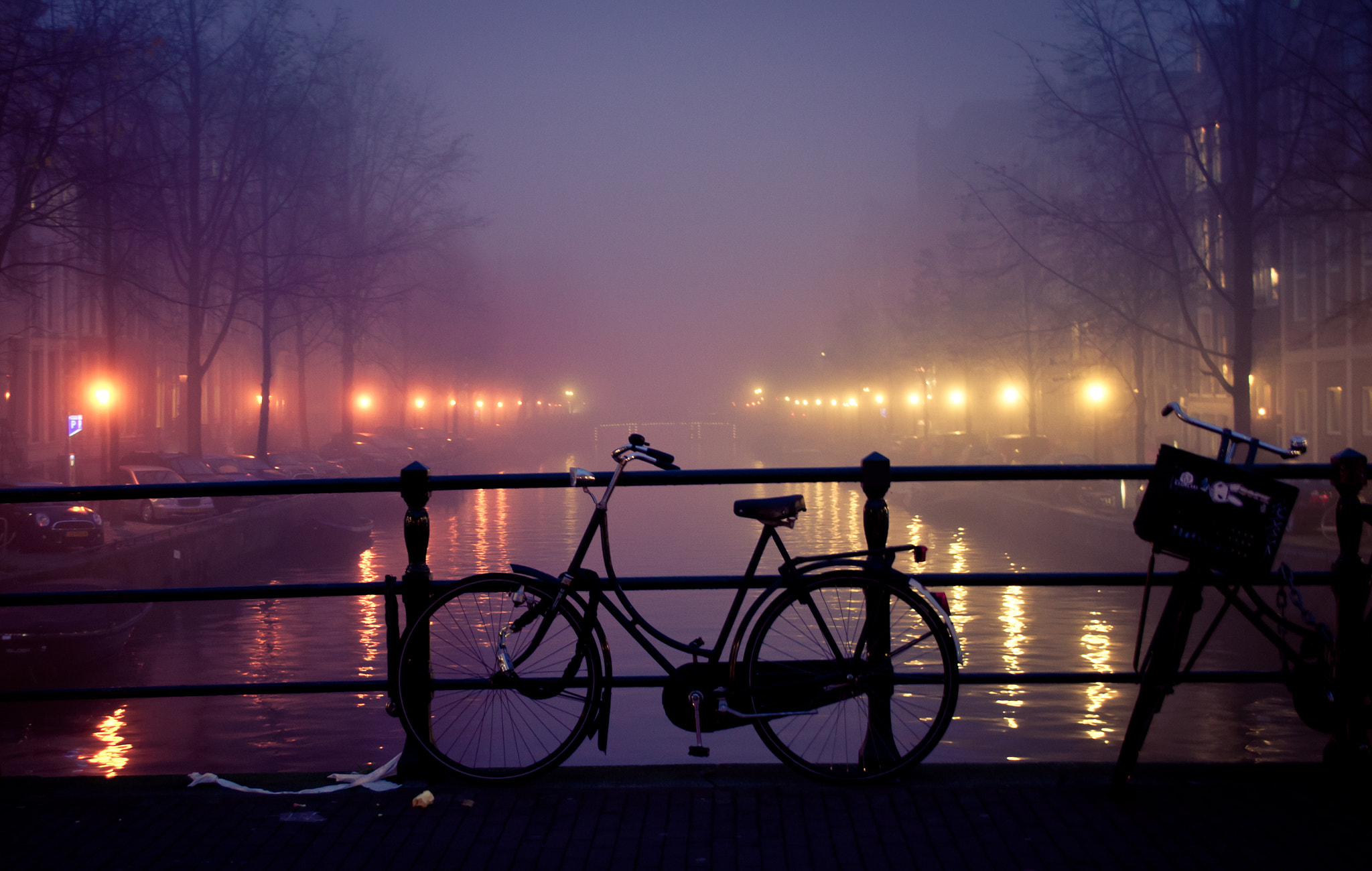 Photograph Foggy evening  in Amsterdam2 by Glafira Kushnir on 500px
