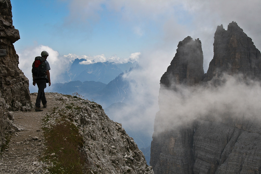 Photograph Dolomites - over the clouds by Pe Ka on 500px