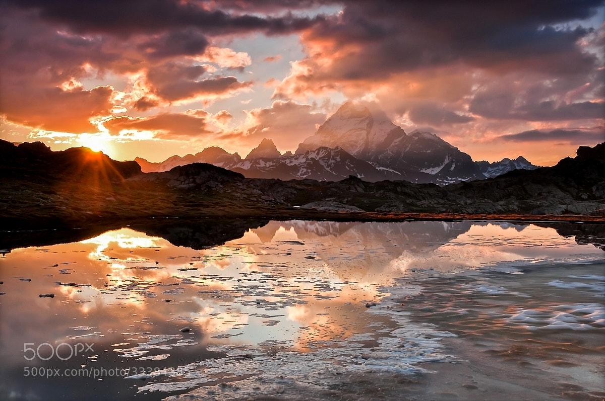 Photograph Sunrise on Viso by Joris Kiredjian on 500px