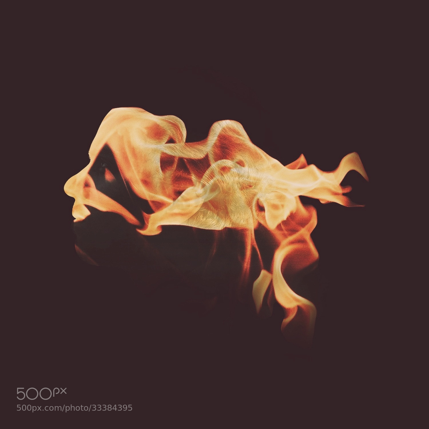 Photograph Man on Fire by yaser almajed on 500px