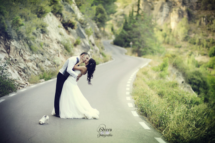 Photograph Road Wedding by Manuel Orero on 500px