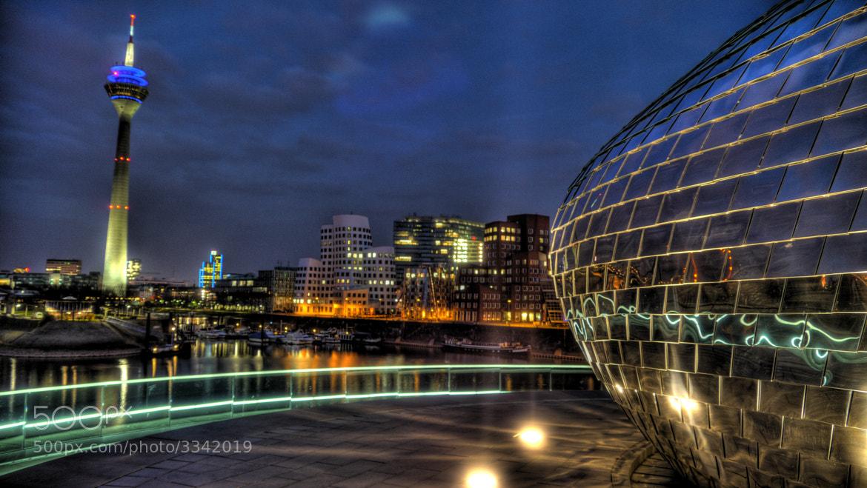 Photograph Medienhafen Düsseldorf by Michael Müller on 500px