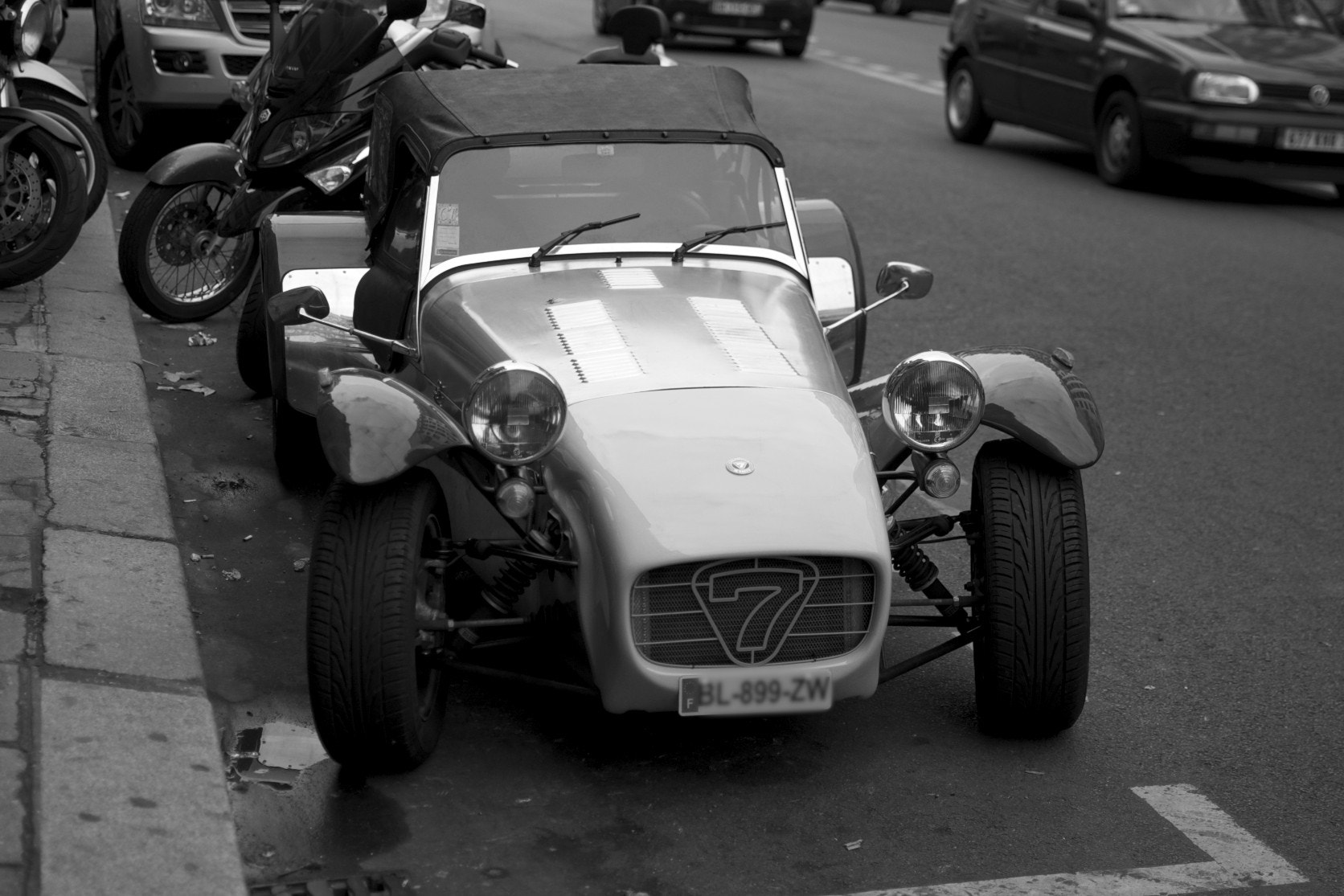 Photograph Caterham 7 by Angelus YODASON on 500px