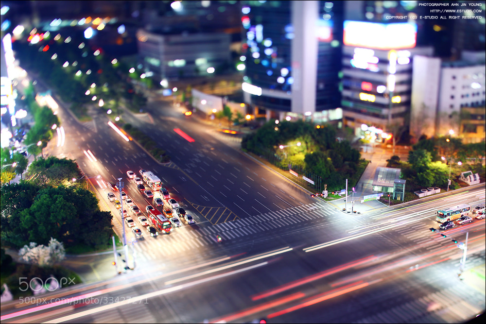 Photograph Night view of Miniature by Jinyoung Ahn on 500px