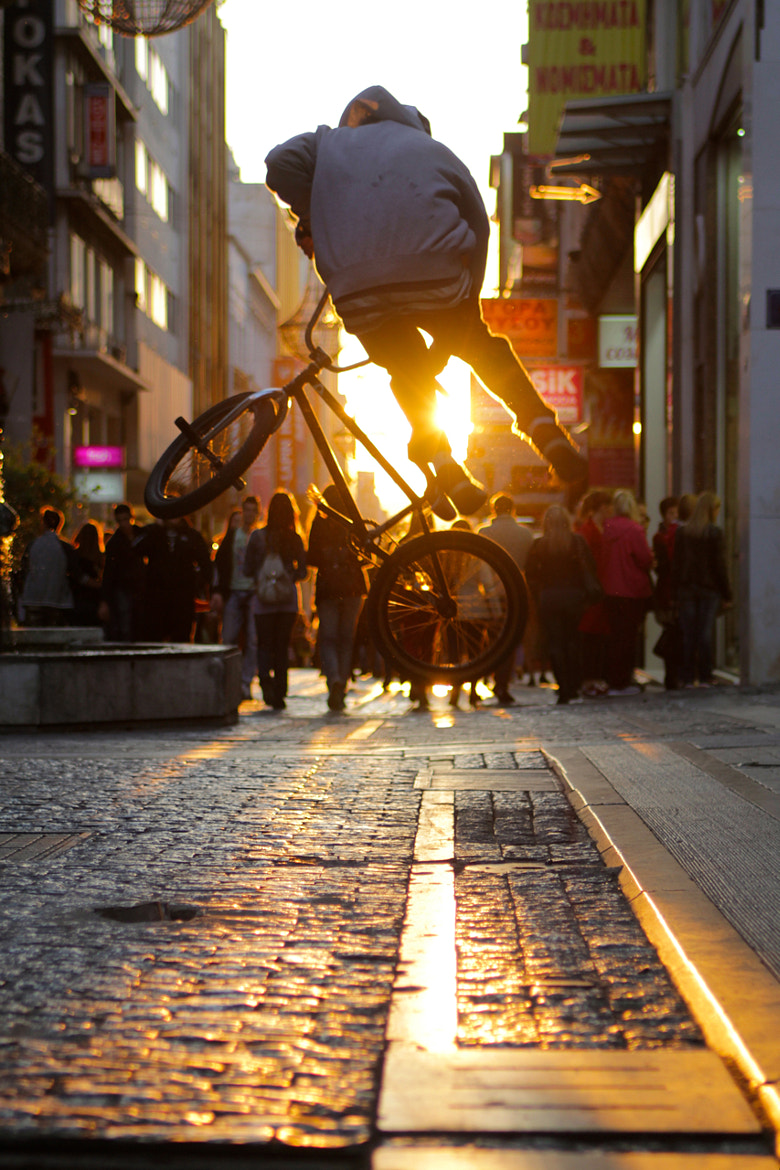Photograph sunset street by ronny rsp on 500px
