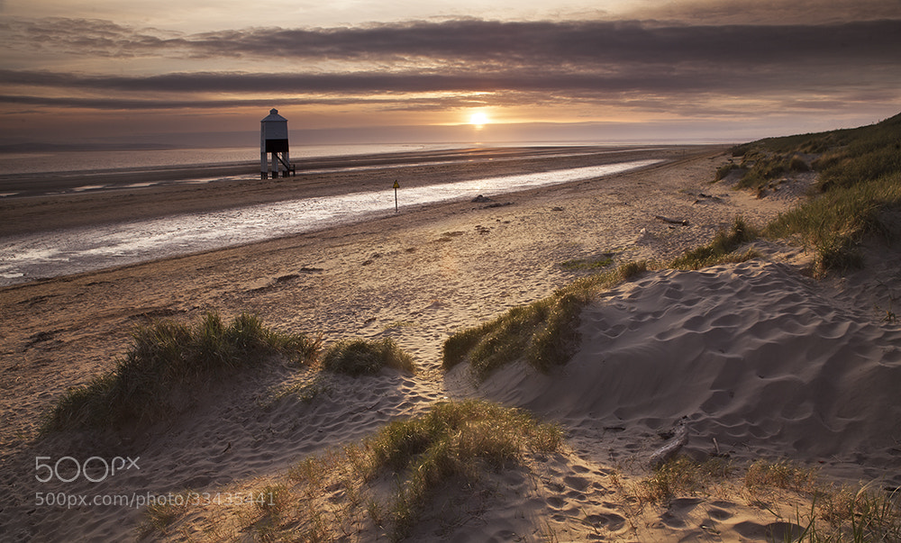 Photograph Burnham-on-Sea at Sunset by Daniel Hannabuss on 500px