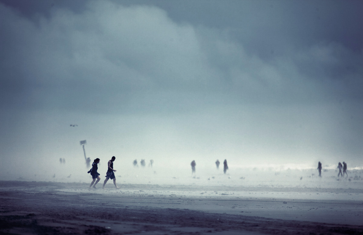 Photograph Ocean city, Seen through the mist by Sparth (Nicolas Bouvier) on 500px