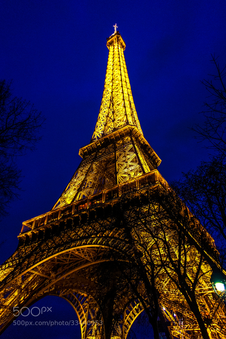 Photograph Eiffel Tower by James Herzog on 500px