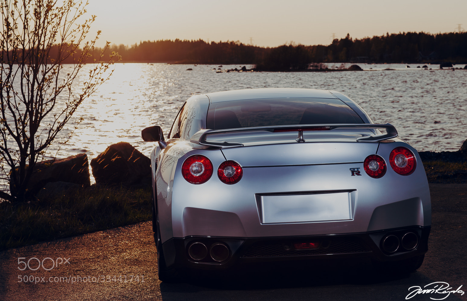Photograph Nissan GT-R by Jussi Rajala on 500px