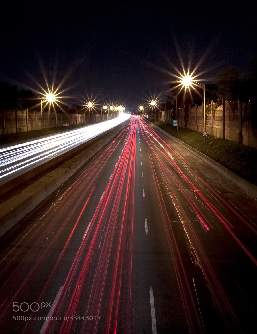 Photograph Speeding Cars On The Highway by Fred Glozman  on 500px