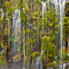 Mossbrae Falls in Northern California is lens bending in size, but sometimes there is plenty of detail and beauty when looking at just part of the whole.