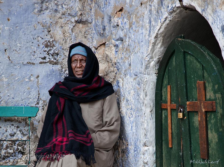 Photograph Portrait of Coptic priest by Mikhail Levit on 500px