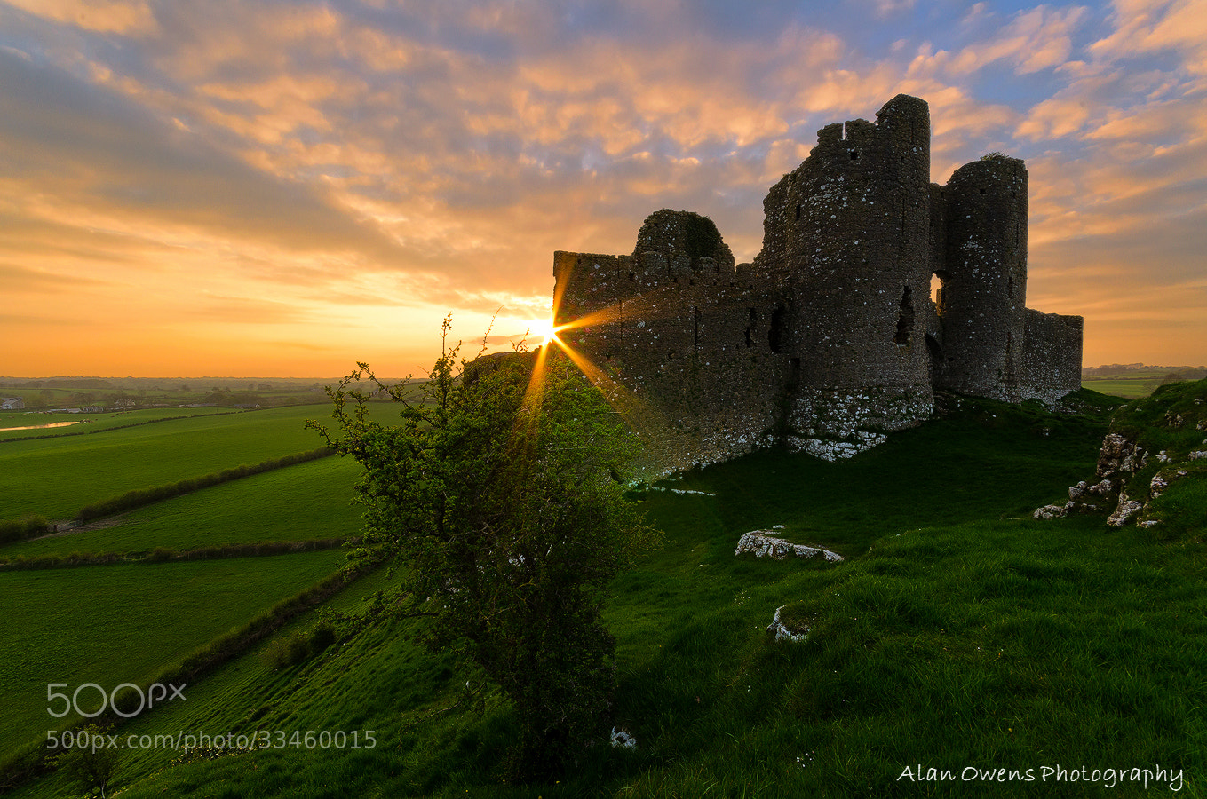Photograph Roche Castle by Alan Owens on 500px