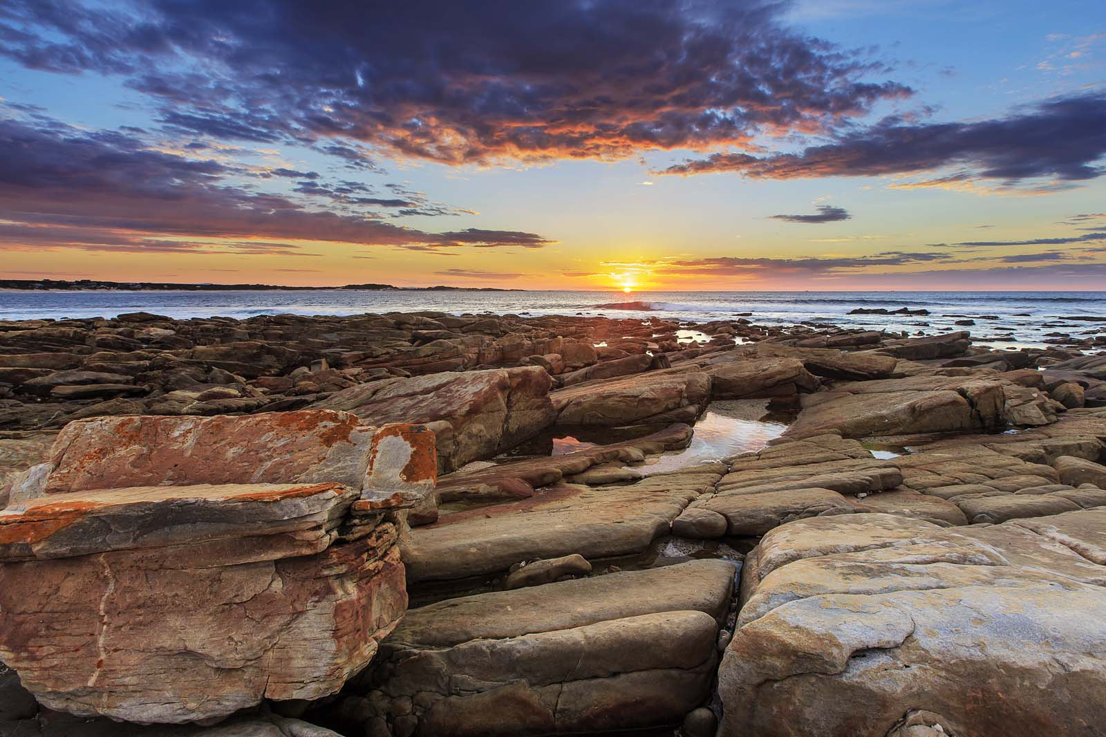 Photograph Rocky Sunrise by Clive Wright on 500px