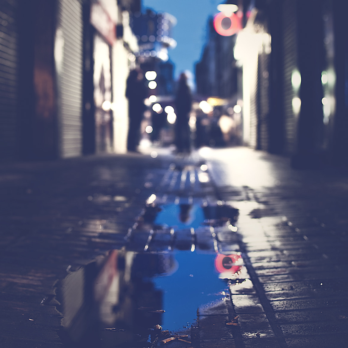 Photograph lost in a blue puddle by Gerard 74 on 500px