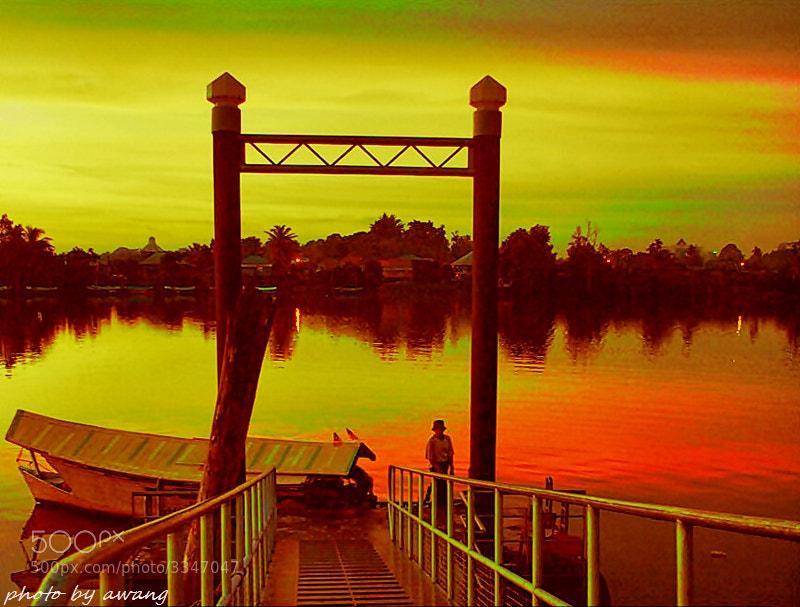 Photograph Golden Evening. by Awang Kassim on 500px