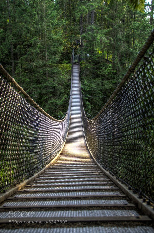 Photograph Suspension Bridge by Hani Atassi on 500px