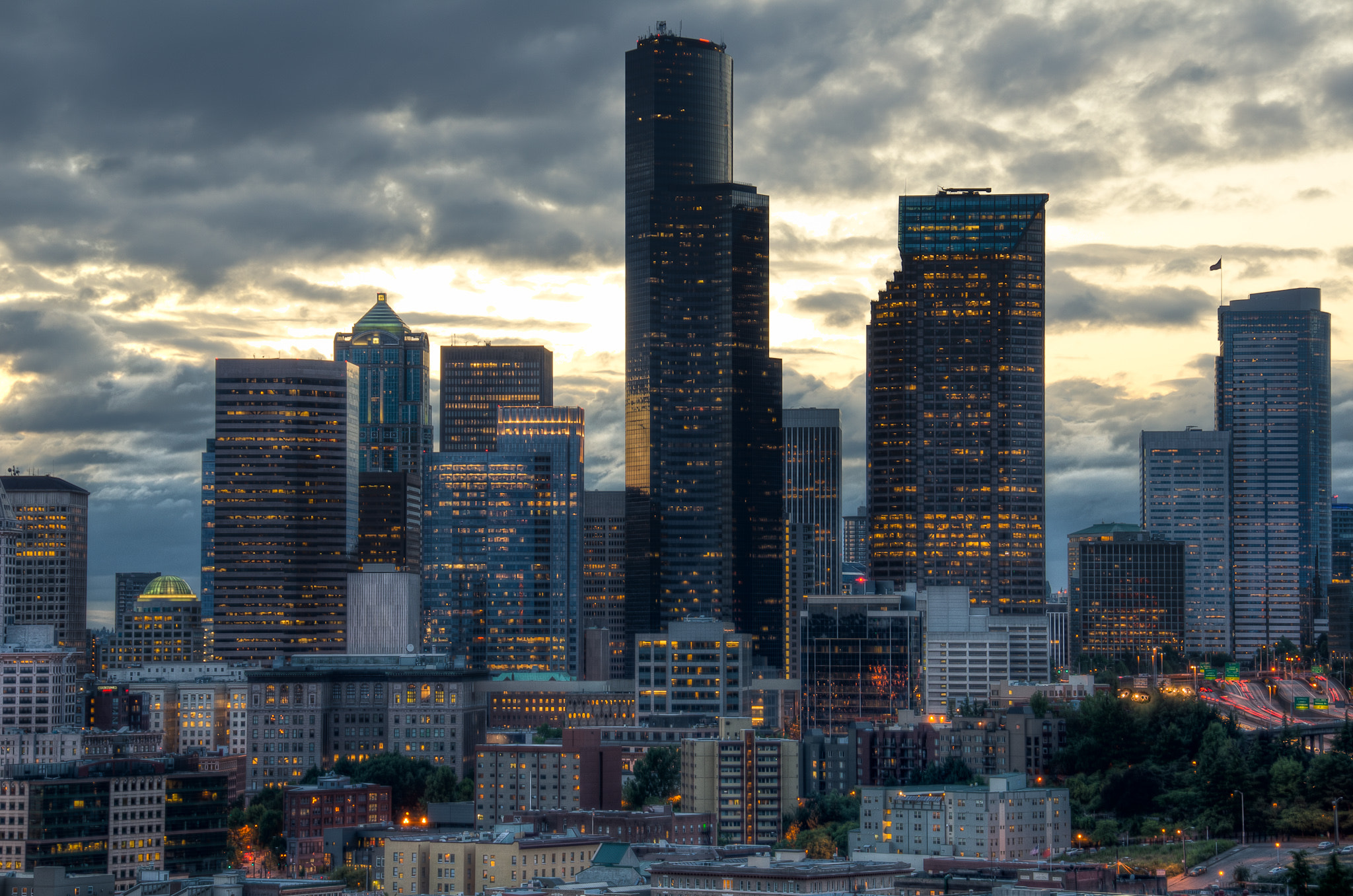 Photograph Downtown Seattle by Hani Atassi on 500px